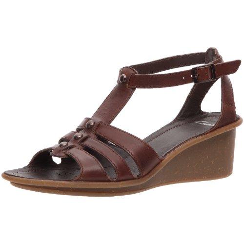 Clarks Reggae Blues 20344044 Damen Sandalen/Fashion-Sandalen Braun (Ebony Leather)