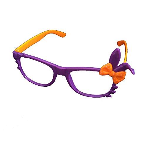 Sunbo Mädchen Brillengestell Gr. One size, Purple Orange