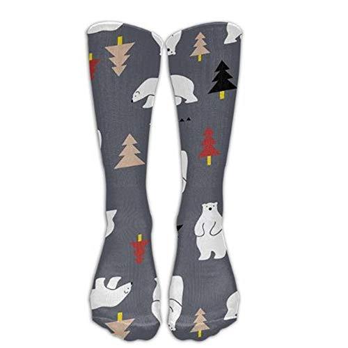 WYLLA Socken 1 para Mode Kniestrümpfe Frauen Baumwolle Hoch Über Dem Knie Strümpfe Für Damen 3D Druck Lange Strümpfe -
