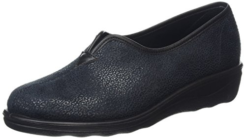 Romika - Romisana 380, Pantofole Donna Nero (Black)