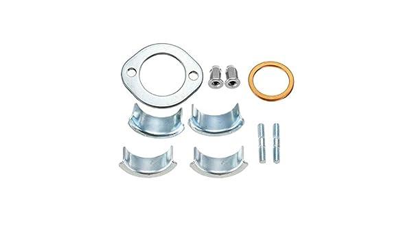 AAlamor Moto Tuyau D/'/Échappement Collets Colliers Pince Support 26//18Mm pour Honda Cg125 CB XL Xl185