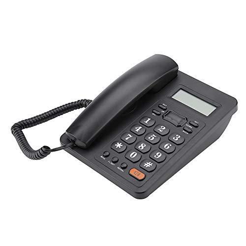 ASHATA Teléfono Fijo de Sobremesa con Cable