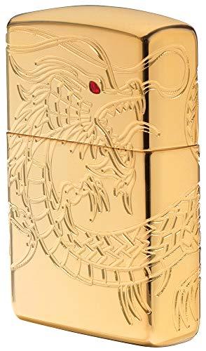 Zippo Sturmfeuerzeug 60002847 Dragon Multi Cut - Armor High polish Gold Plate with Epoxy Inlay - Special Editions 2016/2017 (Zippo Feuerzeug Dragon)