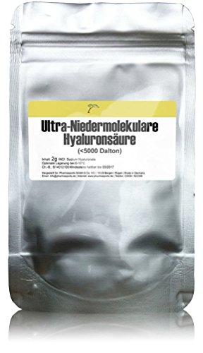 2g-hyaluronsaure-pulver-ultra-niedermolekulare-hyaluronsaure-5000-dalton-herstellung-gel-creme-kosme