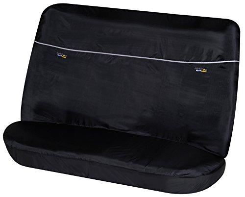 Walser 12080 Autositzbezug Outdoor Sports für Rücksitzbank, schwarz