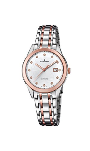 Candino Womens Analogue Classic Quartz Watch with Stainless Steel Strap C4617/3