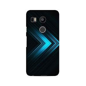 TAZindia Designer Printed Hard Back Mobile Case Cover For LG Nexus 5X
