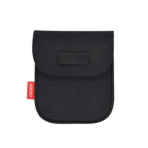 Colorful Filtertasche, Objektiv Filter Tasche Hülle Filter Aufbewahrungstasche für 62mm bis 82mm Runde Filter