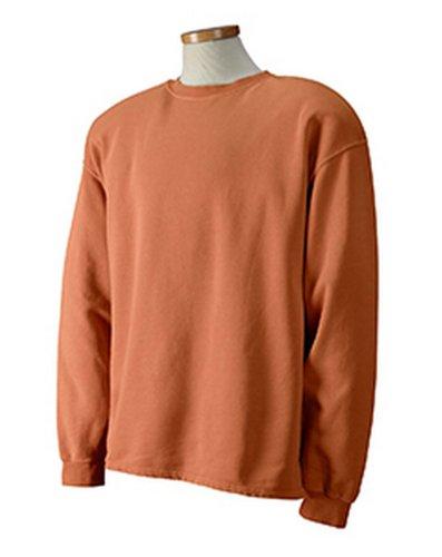 Authentic Pigment 1983Pigment gefärbt Boxy Crew Gr. Small, Yam (T-shirt Aus Pigment-gefärbtes)