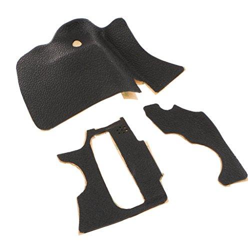 F Fityle 3 Teilige Körper Griff Seite Daumen Abdeckung Cover Schutz für Canon 60D Digital Camera