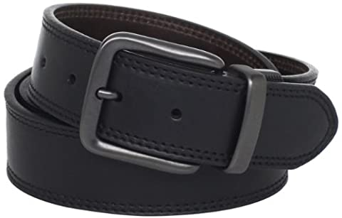 Levi's Men's withide Reversible Casual Jeans Belt - Black