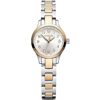 Victorinox Alliance Reloj para Mujer Analógico de Cuarzo con Brazalete de Acero Inoxidable V241842