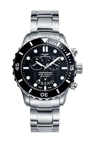 Reloj Suizo Sandoz Caballero 81395-57 Diver Collection