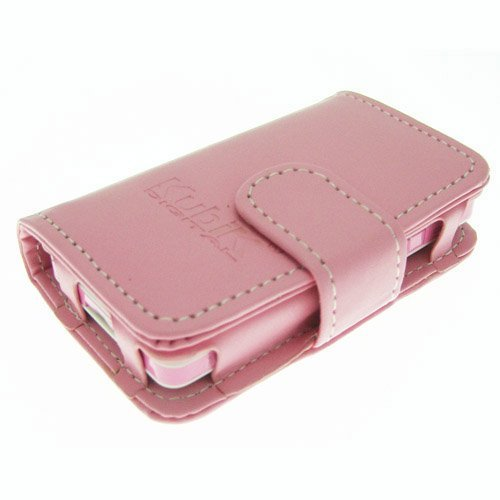 41REvmlYmlL - BEST BUY #1 Genuine Leather Case for Kubik Evo MP3 & Video Player - Evo Pink Reviews and price compare uk