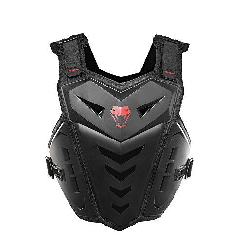 herobiker Motorrad Armor Weste Motorrad Reiten Brust Armor Rückenprotektor Armor Motocross Off-Road-Weste (Armor Weste)