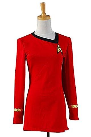 Costumes Star Trek Robe - Star Trek The Female Duty Uniforme Dress