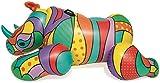Bestway Pop Rhino 198 x 117 x 84 cm, bouée gonflable au design moderne avec une grande superficie