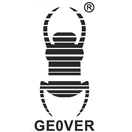 GEO-VERSAND Standard Aufkleber Tb- Geocaching Travelbug Trackbar, schwarz, S, 10790