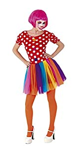 Rubies- Disfraz Payasa, Talla única (Rubie