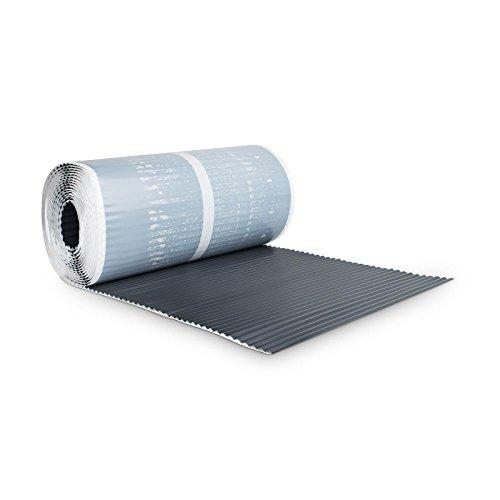 BMD Kaminanschlussband Wandanschlussband 300 mm x 5 m plissiert (anthrazit (RAL 7016)) Kaminanschluss Wandanschluss Kaminband Aluflex Dachrolle
