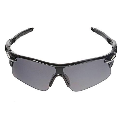 A-szcxtop Dazzle Couleur Réfléchissante Sports d'extérieur pour vélo Pêche Lunettes de conduite Eyewear Lunettes de soleil fashion pour hommes et femmes