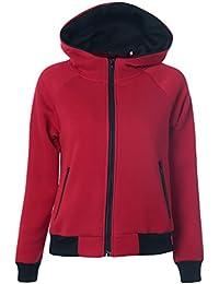 YOUJIA Sudaderas Deportivas Sudadera Chaqueta y Cremallera con Capucha de Mujer Juveniles Personalizada Sudader Hoodie Sweatshirts