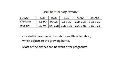 My Tummy Mutterschafts Kleid Umstands Kleid Julia mit Spitze A-Linie Elegant Hochzeit - 5