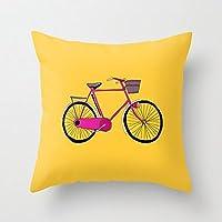 Luglio NUOVA bicicletta federa Copri Cuscino Decorazione Casa