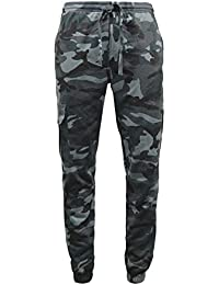 Mens Game Midnight Camouflage Fleece Tracksuit | Hoodie | Zipper | Joggers