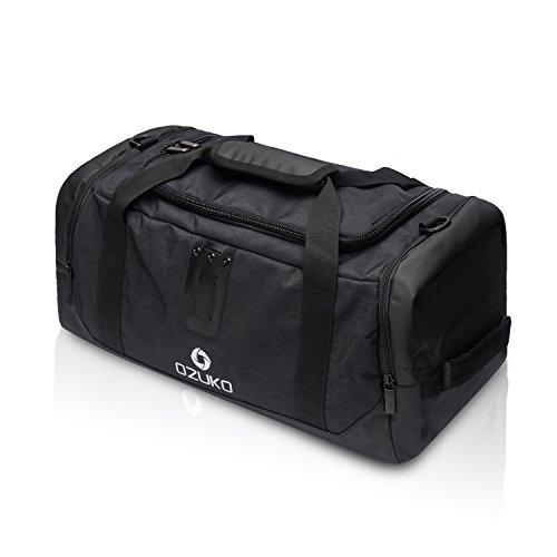 FANDARE Sport Reisetasche Herren/Damen Gym Handtasche Boston Rucksack Outdoor Camping Umhängetasche...