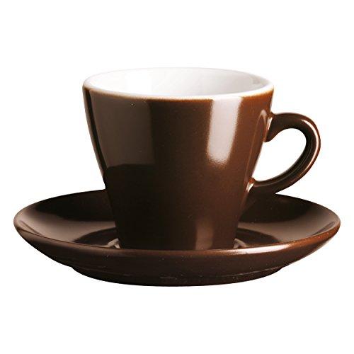 Asa Selection Caffee Ti Amo Cappuccinotasse inkl. Untertasse choco braun