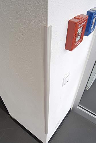 Unbekannt Kantenschutz aus Kunststoff , Wände, Fensterbänke, Schränke und Eckenschutz, Kinderschutz, Kunststoffkantenschutz