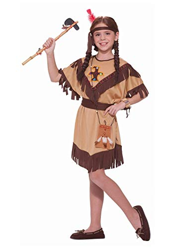 Native American Indian Princess Dress Costume Child - Native Indian Princess Kostüm