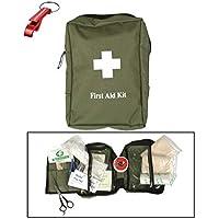 First Aid Kit Erste Hilfe Set large oliv + AOS-Outdoor® Flaschenöffner preisvergleich bei billige-tabletten.eu