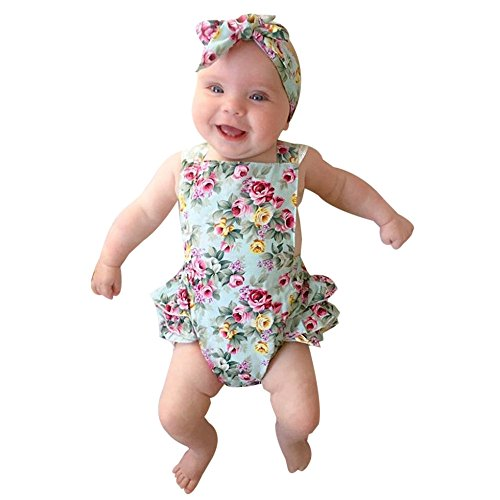 SHOBDW Girls Clothing Sets, Newb...