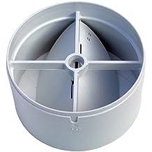 Ventilador en Línea con Obturador de Calado Trasero 100mm