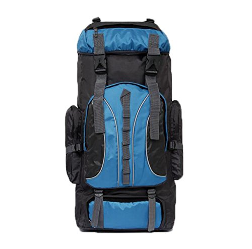 Outdoor Rucksack 60L Bergsteigen Tasche Schulter Reise Ranzen Blue