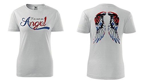 Colour Fashion -  T-shirt - Donna White