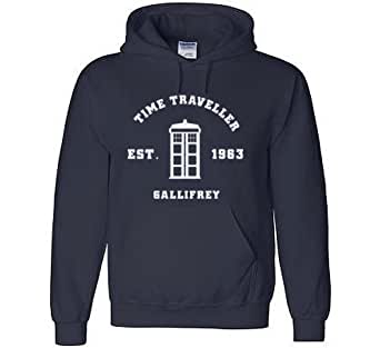 DOCTOR Time Travel KIDS Hoodie Sports Navy size 5/6 YEARS