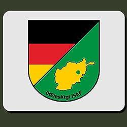 dteinsktgt isaf Alemán Uso kontingent Escudo vendaje táctico militar del ejército alemán extranjero Uso Afganistán–Alfombrilla de ratón Mousepad Ordenador Laptop PC # 5891