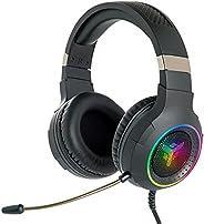 Itek – Cuffie Gaming H430 - Cuffie Gaming con Microfono Flessibile. Cuffie da gioco con Controllo del volume,