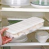 TAOtTAO Aufbewahrungsbox für Tiefkühlkost Rechteckige Crisper Gemüse Fleisch Obst Große Transparent Neu