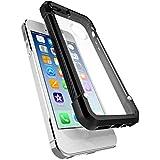 OH-BOX® Unicornio iphone 6 / 6s caso, material de la PC + TPU caja del teléfono protectora de la piel para el teléfono(El negro)
