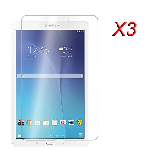 3 x Infiland Super Trasparente Antigraffio Pellicola proteggi schermo Screen Protector per Samsung Galaxy Tab E 9.6 T560N 24,3 cm (9,6 pollice) Tablet protettive per display/Protezione Dello Schermo