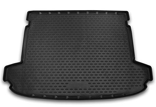 AD Tuning TMP19006 Passform Kofferraumwanne, Anti-Rutsch Oberfläche, schwarz