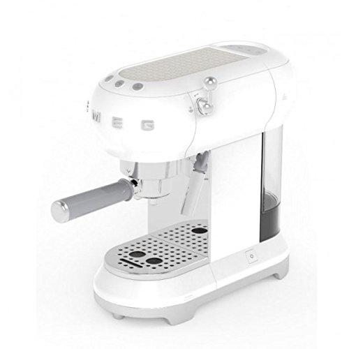 SMEG Expresso Kaffeevollautomat 50-15 Bars weiß ECF01WHEU