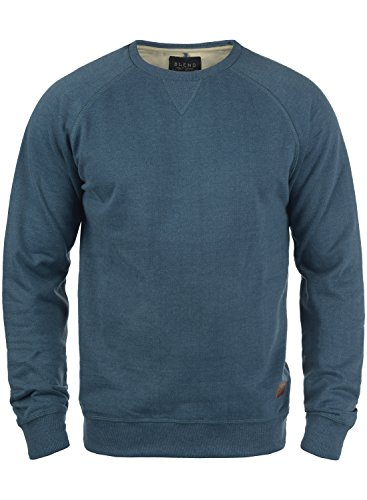 BLEND Alex 20701680ME Sweatshirt, Größe:L;Farbe:Ensign Blue (70260)