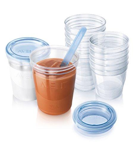 Philips Avent SCF720/10 VIA - Sistema de almacenamiento para alimentos infantiles
