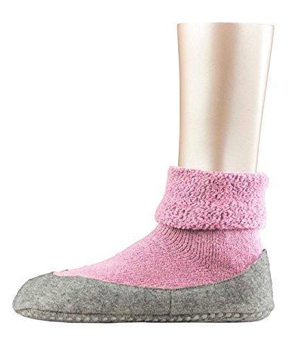 Blossom Socken (FALKE Damen Stoppersocken Cosyshoe,Rosa (almond blossom), 39/40 EU)