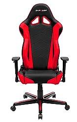 DX Racer OH/RZ0/NR Gaming-Stuhl, Schwarz/Rot